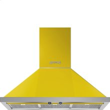 "36"" Portofino, Chimney Hood, Yellow"