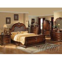 Cherry Finish Eastern King Bedroom Set