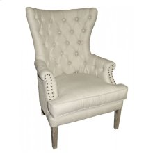 Pate Tufted Tall Wing Chair