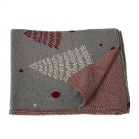 Mod Tree Knit Throw. Product Image