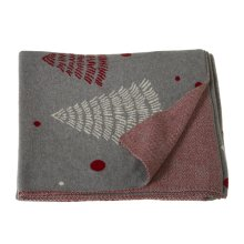 Mod Tree Knit Throw.