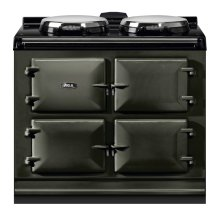 """AGA Dual Control 39"""" Electric/Natural Gas Pewter with Stainless Steel trim"""