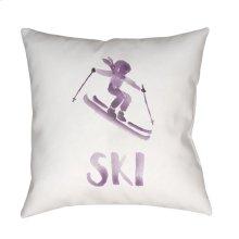 "Ski II SKI-013 20"" x 20"""