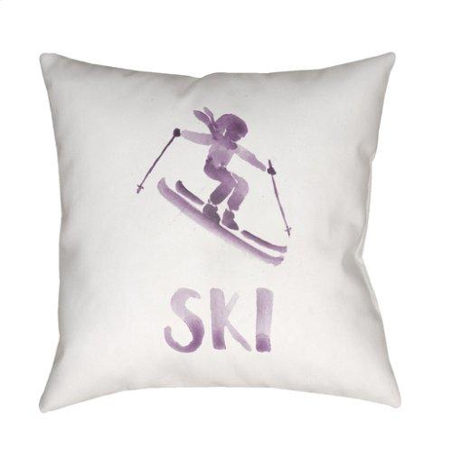 "Ski II SKI-013 18"" x 18"""