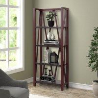AMERICANA MODERN - CRANBERRY Etagere Bookcase Product Image