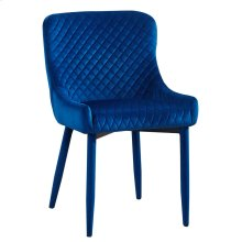 Draco Navy Velvet Chair