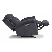 Minnie Fabric Power Recliner with Power Headrest