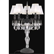 8605 Monarch Collection Table Lamp Dark Bronze Finish