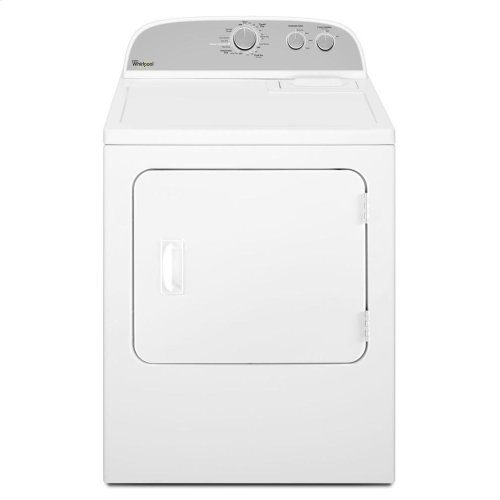 7.0 cu. ft. Dryer with Wrinkle Shield Option