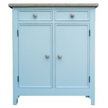 Chesapeake Hall Chest- Aqu/rw
