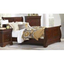Queen Sleigh Complete Bed