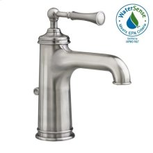 Hatteras Single Lever Lavatory Faucet - Polished Chrome