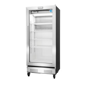 Frigidaire Commercial 18.4 Cu. Ft., Glass Door Merchandiser in Stainless Steel **OPEN BOX ITEM** West Location