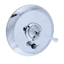 Brookhaven - Pressure Balance Mixing Valve Trim - Polished Chrome