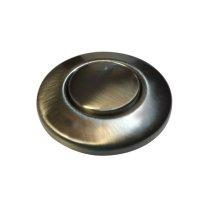 satin nickel disposal air switch button