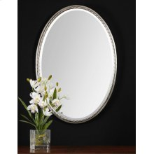 Casalina Nickel Oval Mirror