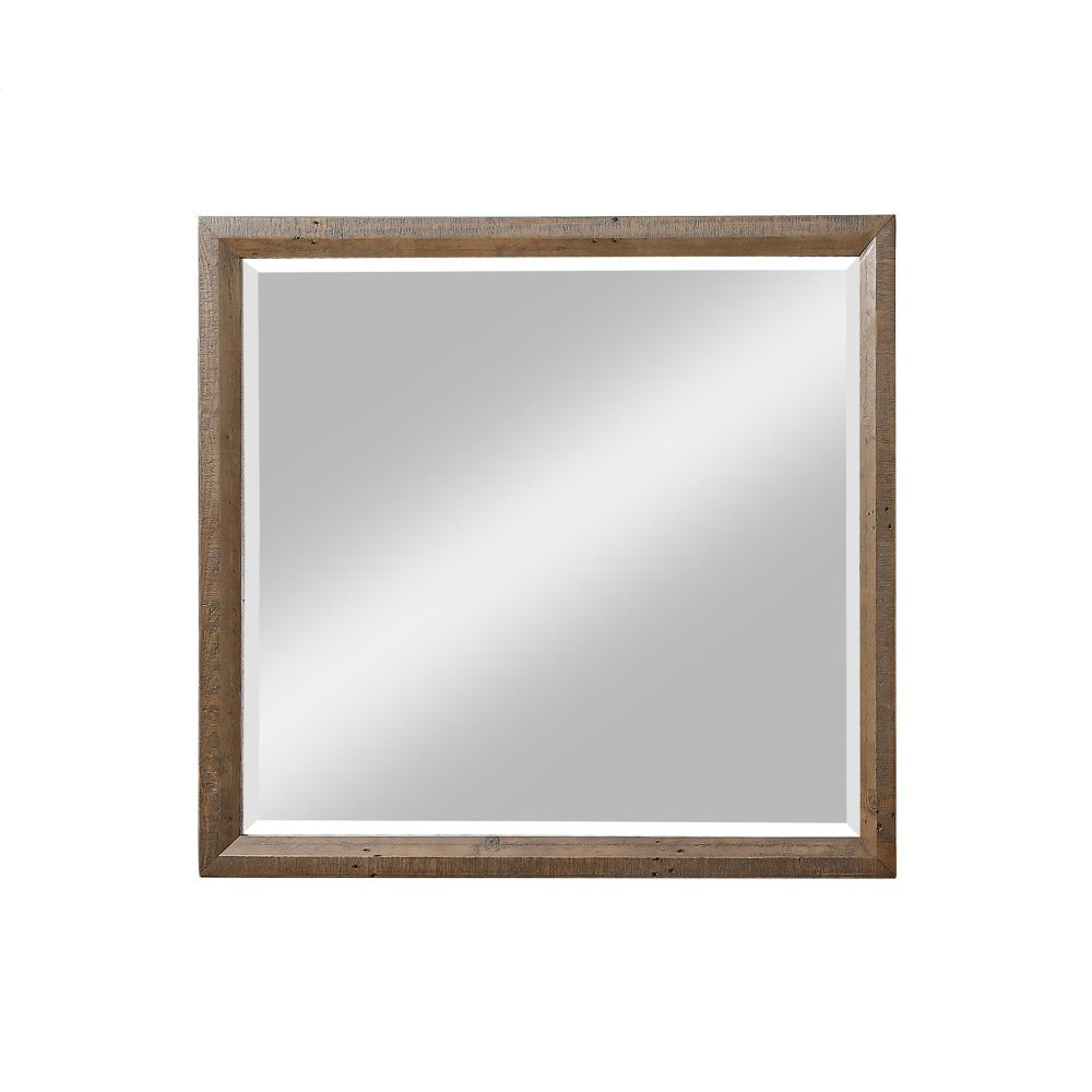 Emerald Home Pine Valley Landscape Mirror-burnished Pine Finish B744-24