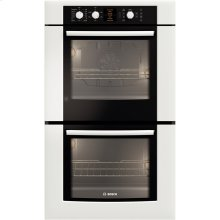 """30"""" Double Wall Oven 500 Series White"""