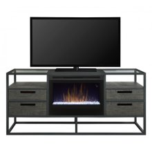Ivan Media Console Electric Fireplace