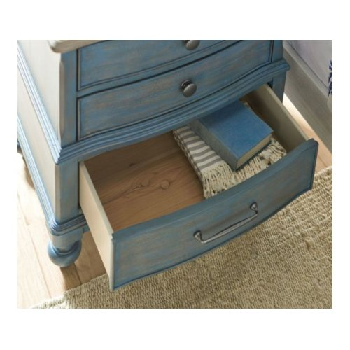 Moray Nightstand Blue