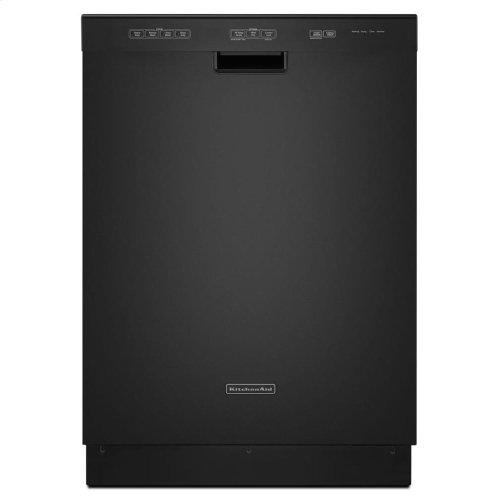 KitchenAid® 24-Inch 4-Cycle/3-Option Dishwasher, Pocket Handle - Black