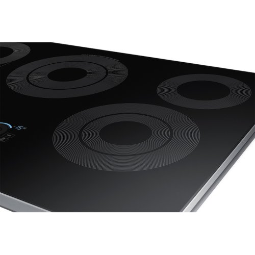 "30"" Electric Cooktop with Sync Elements in Stainless Steel"