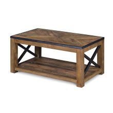 Small Rectangular Cocktail Table (w/Casters)