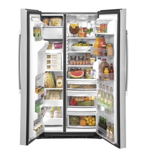 GE® 21.8 Cu. Ft. Counter-Depth Side-By-Side Refrigerator