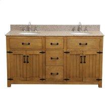 Countryside Bathroom Vanity - 60 Inch