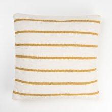 Alba Striped Pillow - Mustard