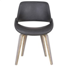 Serano Accent & Dining Chair in Charcoal