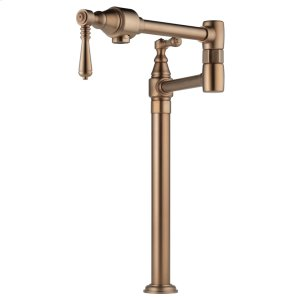 Traditional Deck Mount Pot Filler Faucet Product Image