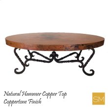 Hammer Copper Coffee Table