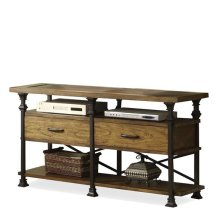 Lennox Street Console Table Landmark Worn Oak finish