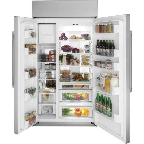 "Café 42"" Built-In Side-by-Side Refrigerator"