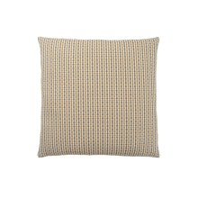 "PILLOW - 18""X 18"" / GOLD / GREY ABSTRACT DOT / 1PC"