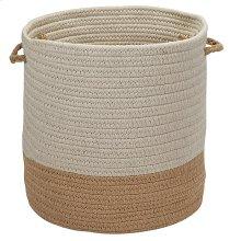 "Sunbrella Coastal Basket AS89 Wheat 11"" X 7"""
