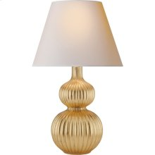 Visual Comfort AH3040G-NP Alexa Hampton Lucille 31 inch 60 watt Gild Table Lamp Portable Light
