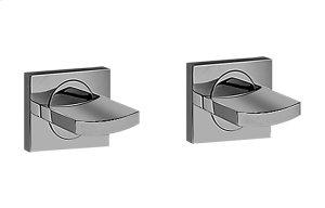 Sade/Targa Lavatory Handle Set - Wall-Mounted Product Image