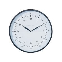 Black Emily Wall Clock - Small