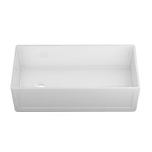 """Fira 083919 - undermount with apron front fireclay Kitchen sink , 37 1/4"""" × 17 1/2"""" × 10"""""""