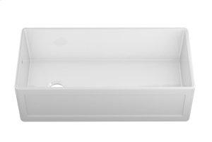 """Fira 083919 - undermount with apron front fireclay Kitchen sink , 37 1/4"""" × 17 1/2"""" × 10"""" Product Image"""