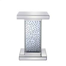 17.5 inch Crystal End Table Clear Royal Cut Crystal