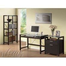 Loakin Wenge Finish Desk Set