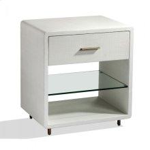 Alma Bedside Chest - White