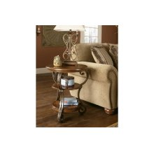 T517-7  Chair Side End Table