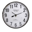 Chestnut Wall Clock Product Image