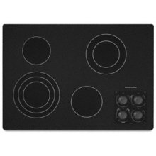 "4 Elements Traditional Black Ceramic Glass Surface Electric 30"" Width Architect® Series II"