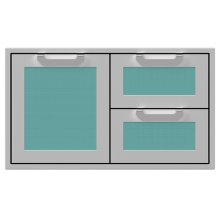 "36"" Hestan Outdoor Combo Door/Drawer - AGSDR Series - Bora-bora"