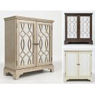 "Casa Bella 32"" Accent Cabinet- Vintage Silver Product Image"